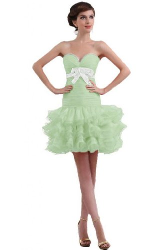 cocktail organza arrivo Sweetheart nuovo Sage Sunvary Dress breve party guaina SIAY5Rq