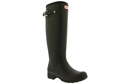 Boots Black Matte Tour Swamp Green Original Rain Hunter Women's zRqZYgxp