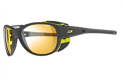 Julbo Explorer 2.0 Mountaineering Glacier Sunglasses - Zebra - Matte Gray/Yellow