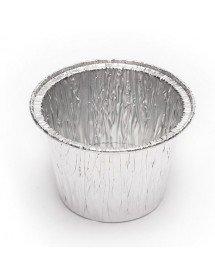 Envase postre flan de aluminio 103 ml (Pack 150 uds)
