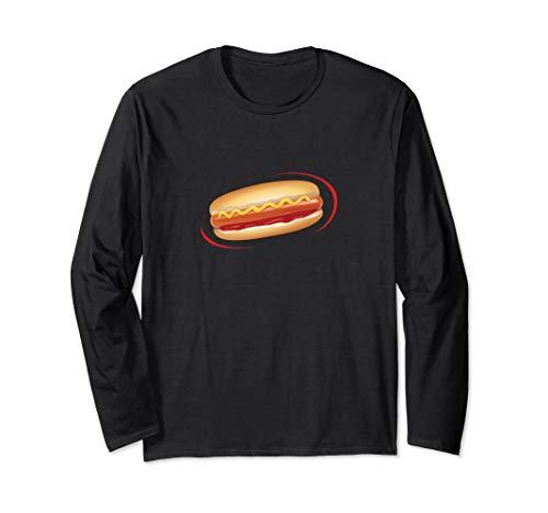 (Hotdog Halloween Costume Long Sleeve Shirt Groups Add)