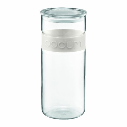 Amazon Lightning Deal 75% claimed: Bodum Presso 85-Ounce Glass Storage Jar
