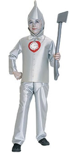 Kids Costumes Of Man Tin Wizard Oz (Wizard of Oz Child's Tin Man Costume,)