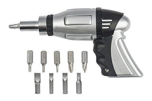 Easy Grip Screwdriver Gun Includes 10 Bits