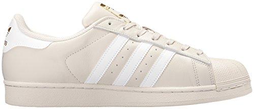 Adidas Heren Superster Ongedwongen Sneake Talk, Ftwwht, Goldmt
