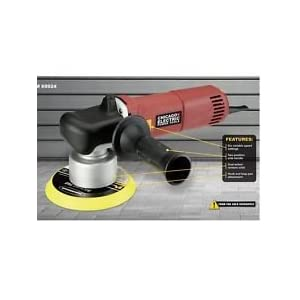 """POLISHER KIT, 6"""" DUAL ACTION POLISHER, 2 DETAIL FOAM PADS, ANSI SAFETY GLASSES, 3 DAY PRIORITY DEL. W/TRACKING #. ANY QUESTIONS PLEASE EMAIL US"""