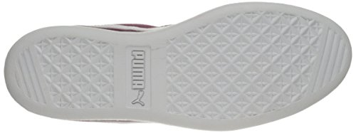 Puma White PUMA Women's Plum Fashion Red Sneaker Sfoam Vikky q8Rxr0q