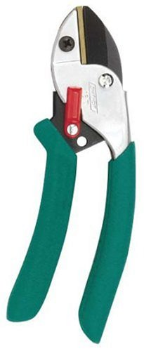 Gilmour Mid-Size Anvil Hand Pruner 1/2-Inch Cutting Capacity Teal 18T