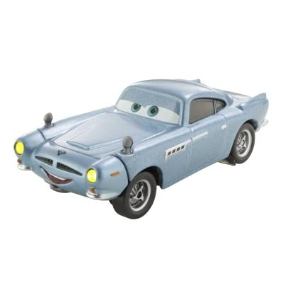 Disney / Pixar CARS 2 Movie 155 Die Cast Checkout Lane Package Finn McMissile: Toys & Games
