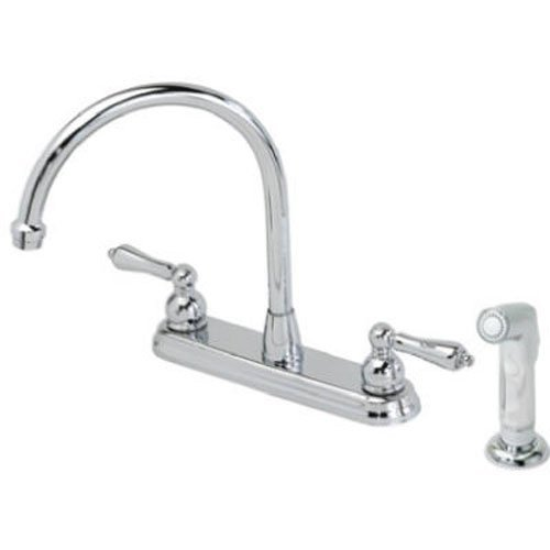 HOMEWERKS WORLDWIDE 623866NL BayPointe Chrome 2 Hand Faucet/Spray