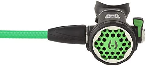Hollis 150LX 2nd Stage Green with 40 Green Miflex Hose for Scuba Diving
