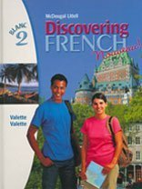 Discovering French, Nouveau!: Student Edition Level 2 2004