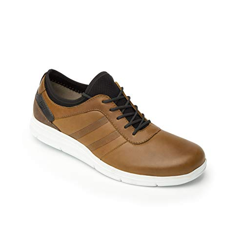 Amazon.com | Flexi Guayaquil Mens Genuine Leather Suede Heel Casual Walking Lace Up Shoe | 47506 | Shoes