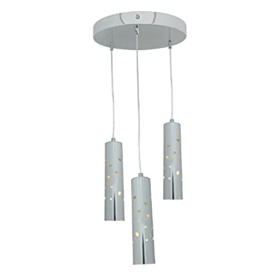 Access Lighting 70049LED-CH/ACR Rain LED Light Pendant with Acrylic Shade, Chrome Finish