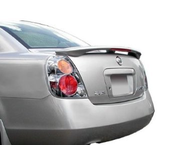 02-06 Nissan Altima 4dr Factory Style Spoiler - Painted or Primed : KY1 SHEER SILVER MET