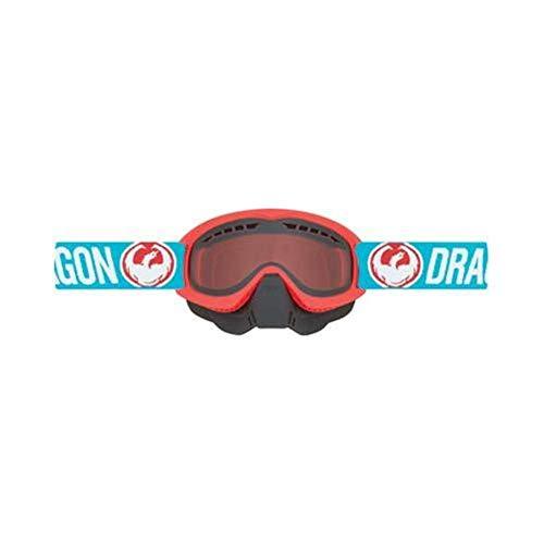 (Dragon Alliance MDX Snow Goggles, Primary Color: Blue, Distinct Name: Flash Blue / Orange Lens, Gender: Mens/Unisex)