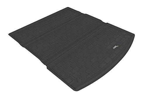 Cargo Custom Mat - 3D MAXpider Cargo Custom Fit All-Weather Floor Mat for Select Dodge Durango Models - Kagu Rubber (Black)