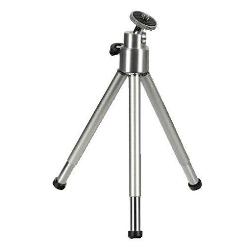 Hama Mini-Stativ mit 3D Kugelkopf L, Ball, Silber