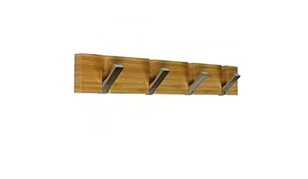Andrea House AX14072 - Perchero Pared Bamboo/Alum. 4C ...