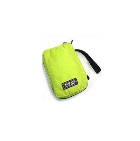 Green Pochette - Necessaire Women Pochette Maquillage Portable Bra Underwear Cosmetic Makeup Toiletry Wash Case Girl's Travel Organizer Bag (green)