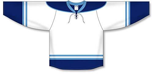 - 2010 Florida 3RD White Pro Plain Blank Hockey Jerseys
