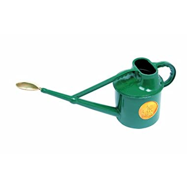 Haws V105 Deluxe Plastic Watering Can, 1.8-Gallon/7-Liter, Green