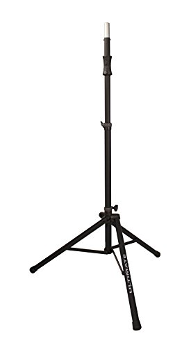 (Ultimate Support TS-100B Air-Powered Series Lift-assist Aluminum Tripod Speaker Stand with Integrated Speaker Adapter)