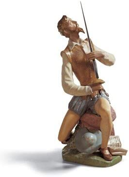 Lladro Don Quixote Sitting