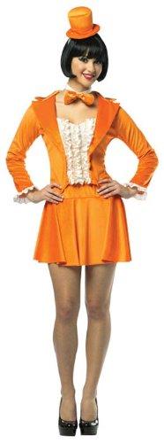 Rasta Imposta Dumb And Dumber Lloyd Skirt Suit, Orange, Adult (Dumb And Dumber In Tuxedos)