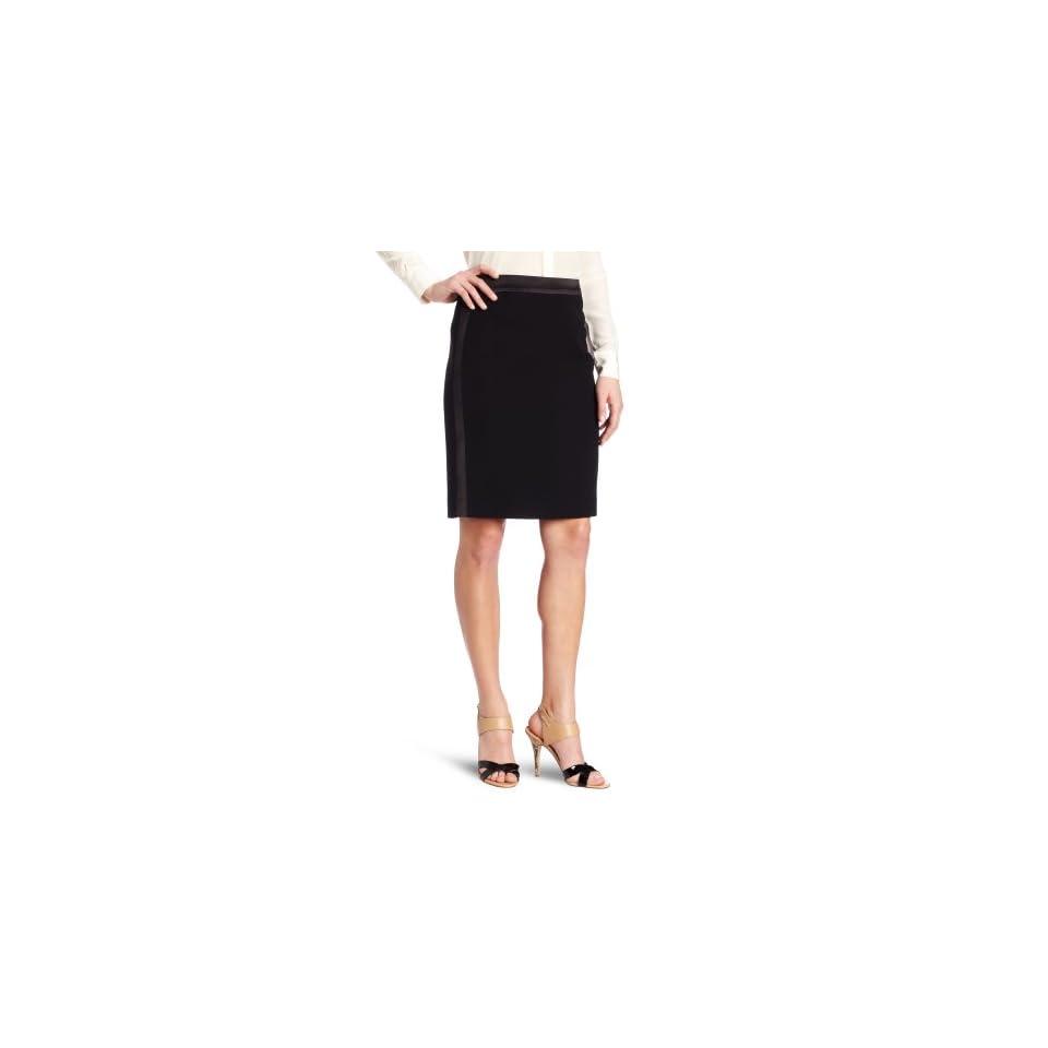 Anne Klein Womens Tuxedo Skirt