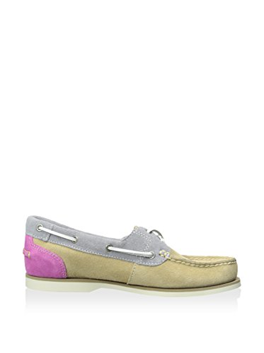 Shoe purple Timberland Classic grey Women's Tan Boat fy7gxp