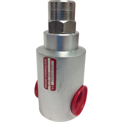 Brand Hydraulic In-Line Relief Valve - 25 GPM Flow Rate, Model# RL50-2000