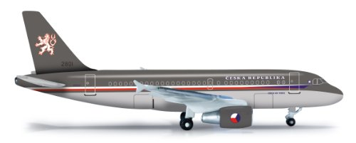 Daron Herpa Czech Air Force A319CJ Diecast Aircraft 1:500 Scale