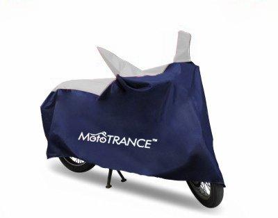 Mototrance Sporty Blue Bike Body Cover for Hero Pleasure