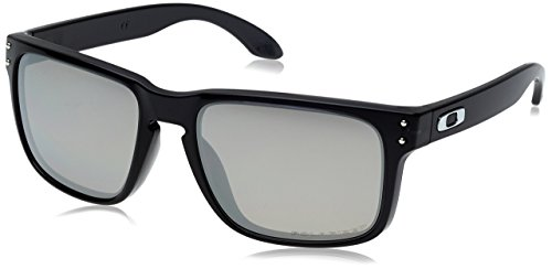0552c32dfd Oakley Sunglasses Holbrook Black Ink Collection Chrome Iridium Polarized  OO9102-68 (B00NOXEVRI)