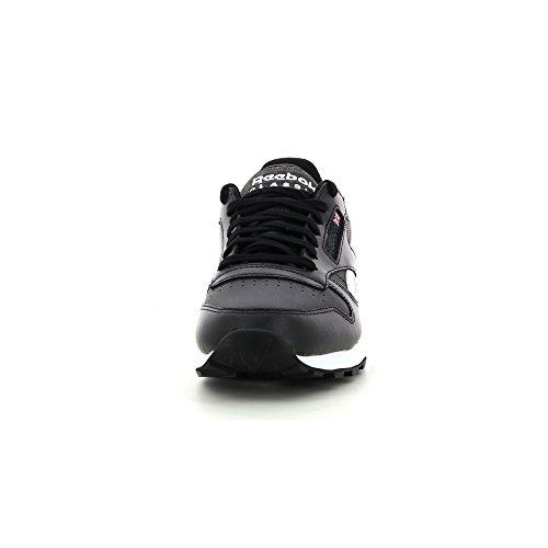 ReebokClassic Leather Pop Sc - Zapatillas de Deporte Hombre - negro
