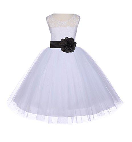 4t black and white dress - 9