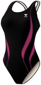 Youth TYR Girls Alliance Splice Maxback Swimsuit