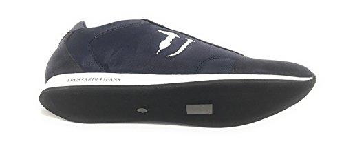Trussardi Jeans Zapatillas Para Hombre Azul Azul Oscuro