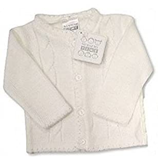 872fda23fc2a The Essential One - Baby Unisex Cable-Knit Cardigan - Navy Blue ...