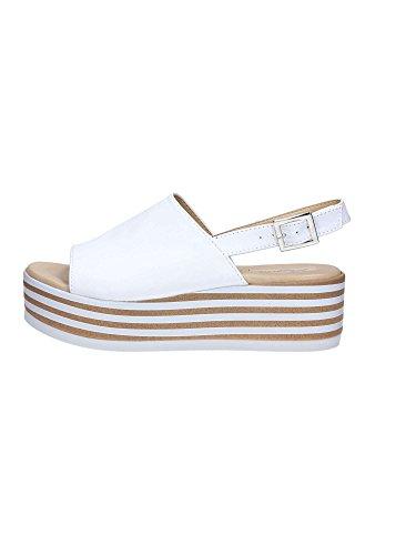 Brigitte 54421 Sandalen Damen Weiß