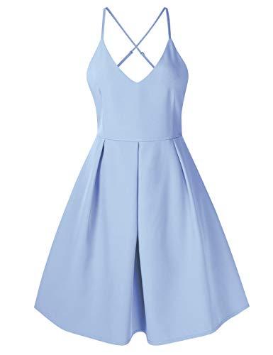 Womens Cheap Fancy Dress - GlorySunshine Women's Deep V Neck Adjustable