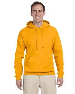 (Jerzees Adult NuBlend® Hooded Pullover Sweatshirt - Gold -)