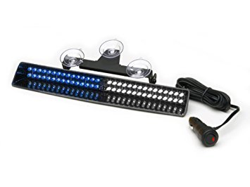 Slim Led Lighter (Whelen Slim-Miser LED Series - SMLLCB Blue/White)