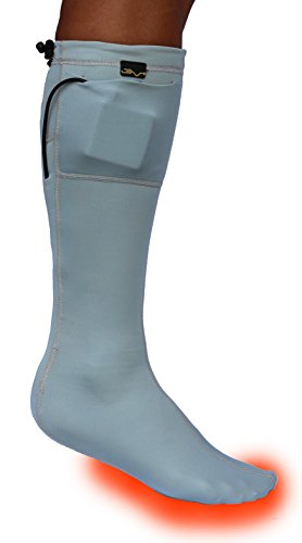 Volt Heated Socks, Grey, Large