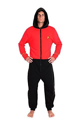 Star Trek The Original Series TOS Red Scotty Loungers (S/M) -