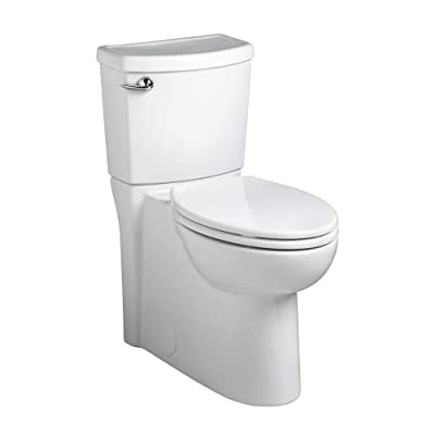 American Standard 2989.101.020 Concealed Trapway Cadet 3 Right Height Elongated Flowise 1.28 gpf Toilet with Seat, White