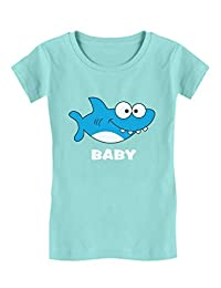 Shark Shirt for Toddler Girl Family Outfit Gift Infant Girls' Fitted T-Shirt