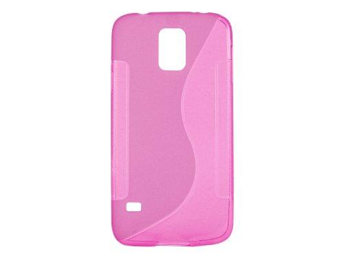 Cellet Slim Flexi TPU S Design Case for Samsung Galaxy S5 - Pink