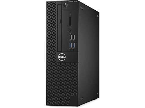 Dell Optiplex 3050 Small Form Factor (SFF) Business Desktop PC, Intel i5-6500 Quad-Core 3.2 GHz, 8GB DDR4, 256GB PCIe NVMe SSD, Ethernet, USB 3.0, DVDRW, Display Port/HDMI, Windows 7 Pro